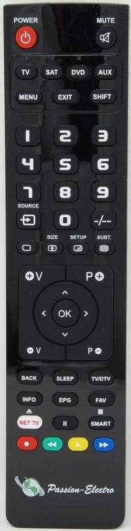 Telecommande-de-remplacement-pour-EYCOS-S50-12PVR-SAT-DTT
