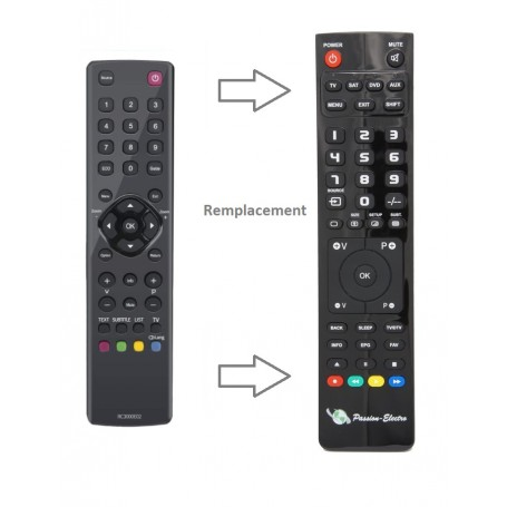 Replacement Remote Control for Thomson 32HC3106