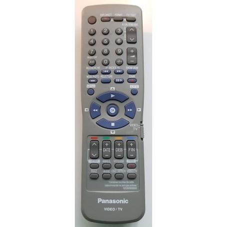 Remote ORIGINAL, REMOTE, Panasonic VHS, VCR, N2QAKB00002