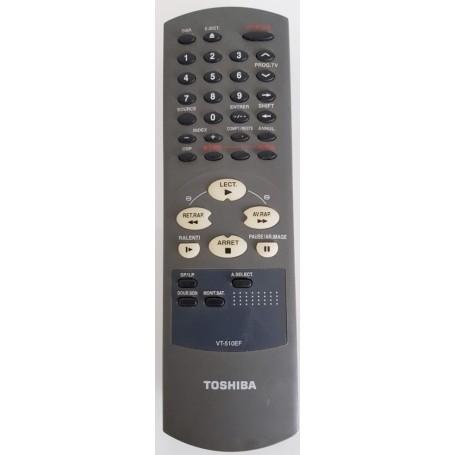 Telecommando ORIGINAL, REMOTE, Toshiba VT-510EF, VCR