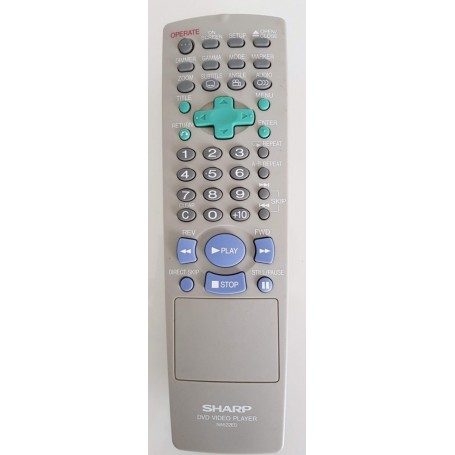 Remote original Sharp NA522ED, DVD