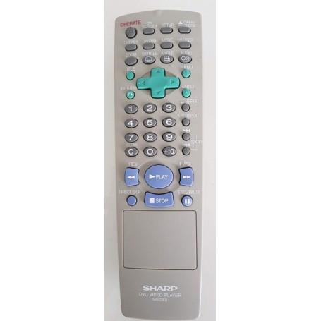 Télécommande original Sharp NA522ED, DVD