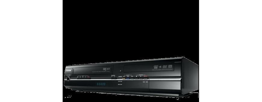 Magnétoscope VHS, graveur de DVD, HDD